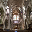 Paris - interior of Saint Denis cathedral — Stock Photo