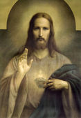 Heart of Jesus Christ — Stockfoto