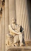 Vienna - Rome historian Taciuts statue - parliament — ストック写真