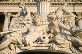 Vienna - Pallas Athena fountain - detail — Stock Photo