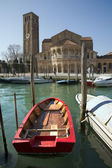 Venice - basilica st. Mary and Donato — Foto Stock
