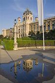 Vienna - Naturhistorisches museum in morning — Stock Photo
