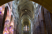St. Vitus cathedral in Prague - interior — Foto Stock