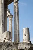 ローマのフォロ ・ ロマーノの列 — ストック写真