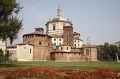 Milan - San Lorenzo - Saint Lorenzo church — Stock Photo