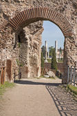 Rome - gate from Palatine hill — Stock Photo