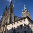 Stock Photo: Prague - st. Vitus cathedral