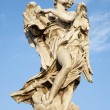 Stock Photo: Rome - Angel with superscription