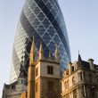 London - Swiss re tower — Stock Photo