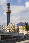 Vienna - Hundertwasserturm - modern architecture — Stock Photo