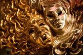 Venice - sun and moon - decoration mask — Stok fotoğraf