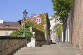 Praga - zamek schody — Zdjęcie stockowe