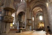 Milan - indoor of San Simpliciano church — Stock Photo