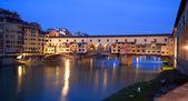 Firenze - ponte vecchio — Foto Stock