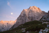 Julian alps - stena peak by sunset — Stock Photo