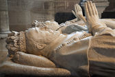 Paris - Tomb of Henri II and Catherine de Medici, from Saint Denis gothic cathedral — Stock Photo