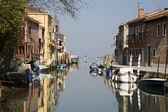 Venezia - canal e case dall'isola di murano — Foto Stock