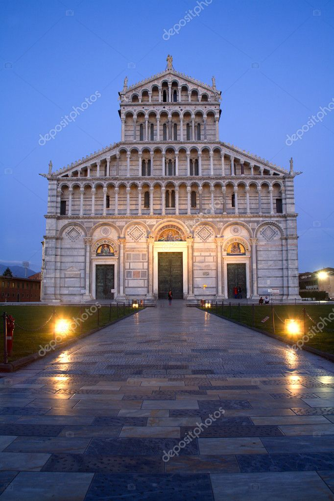 Pisa - cathedral Santa Maria Assunta  Stock Photo #10219893