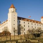 Bratysława - zamek — Zdjęcie stockowe