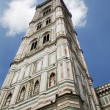 Florence - tower of cathedral of SantMaridel Fiore — Stock Photo #10220333