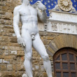 Stock Photo: Florence - David statue by Michelangelo