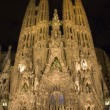 Barcelon- SagradlFamiliat night — Stock Photo #10221549