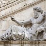 Rome - statue of Nile for Palazzo Senatorio — Stock Photo #10221833