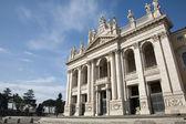 Roma - fachada leste da basílica de são joão de latrão — Fotografia Stock