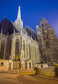 Vienna - Stephansdom cathedral — Стоковое фото
