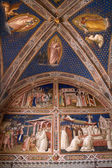 Fresco from Florence church - San Miniato al Monte — Stock Photo