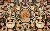 Mediolan - kamienne mozaiki z san alessandro kościoła — Zdjęcie stockowe