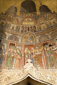 Venice - mosaic from st. Mark cathedral - portal — Stock Photo