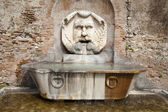 Rome - fountain by Santa Sabina church — Stock Photo