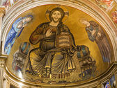 Jesus Christ - Pantocrator from Pisa cathedral — Stock Photo