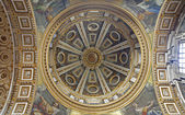 Rome - side cupola of st. Peter s basilica — Stock Photo