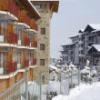 Stock Photo: Bansko architecture contemporary town and ski resort, Balkans, Bulgaria