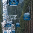 Stock Photo: Bansko, lift cabin, Balkans, Bulgaria, famous ski resort