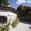 Stock Photo: Bansko, famous ski resort in Bulgaria, old architecture