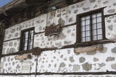 Bansko, famous ski resort in Bulgaria, old architecture, Eastern Europe — Stock Photo