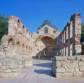 "Nessebar Church ""Holy Sofia"" - Remains — Stock Photo"