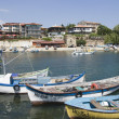 Nessebar Black Seresort, harbour — Stockfoto #10387067