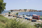 Nessebar Black Sea resort, direction to the old town — Stock Photo