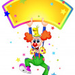 Funny clown — Stock Vector #10106754