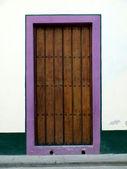 Doorway in Havana — Stock Photo