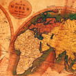 Old map of the world — Stock Photo #10162589