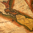 Old map of the world — Stock Photo #10176419
