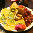 Stock Photo: Plate with fruit