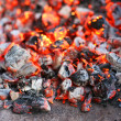 Charcoal combustion — Stock Photo