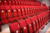 Empty seats in a stadium — Stock Photo