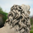 Statue lion — Stock Photo